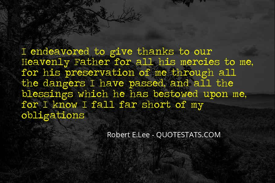 Thanks For All Quotes #184643