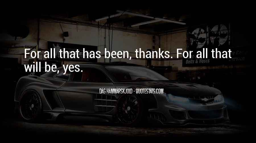 Thanks For All Quotes #333944