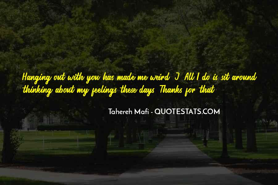 Thanks For All Quotes #637675