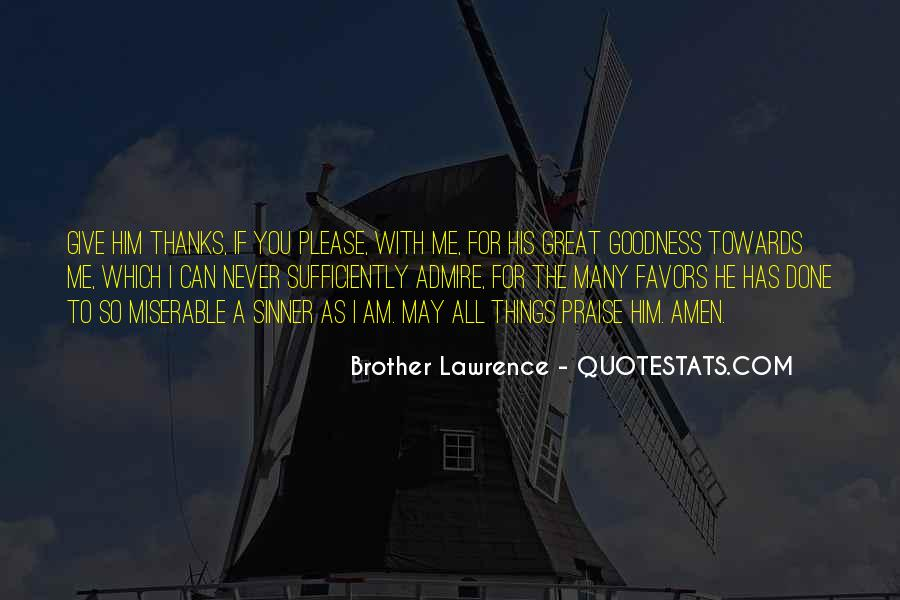 Thanks For All Quotes #836981