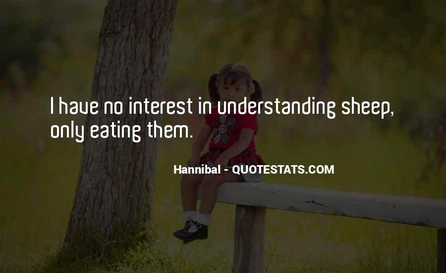 Quotes About Hannibal #164628