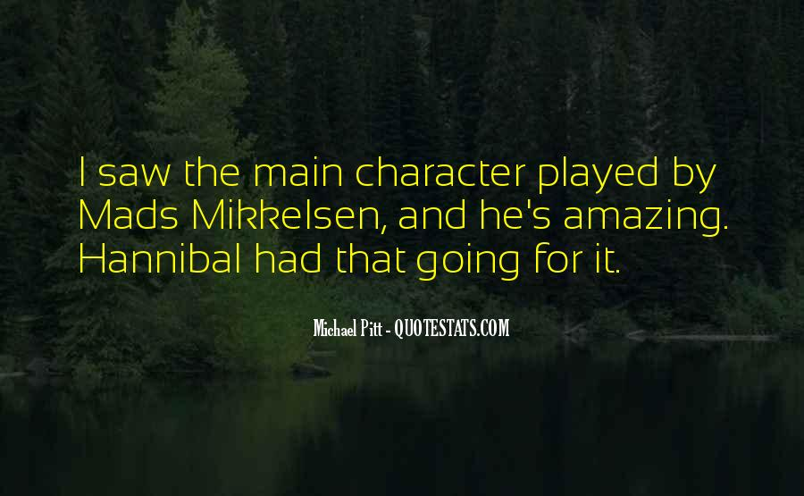 Quotes About Hannibal #487701