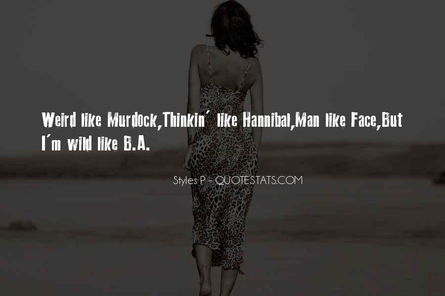 Quotes About Hannibal #727056
