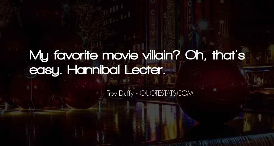 Quotes About Hannibal #765204