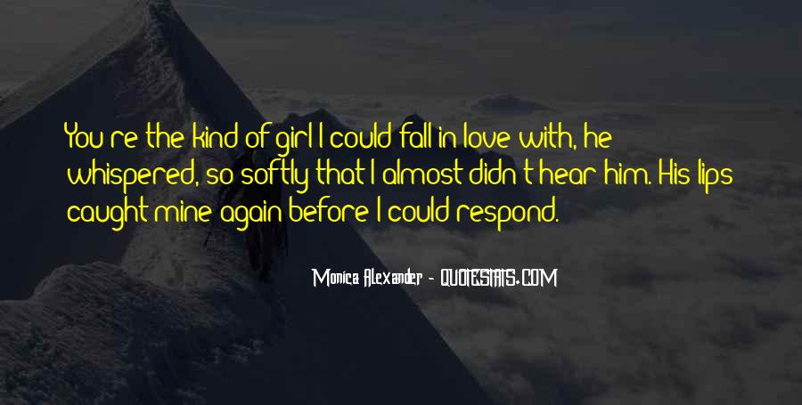 That Girl Love Quotes #100904