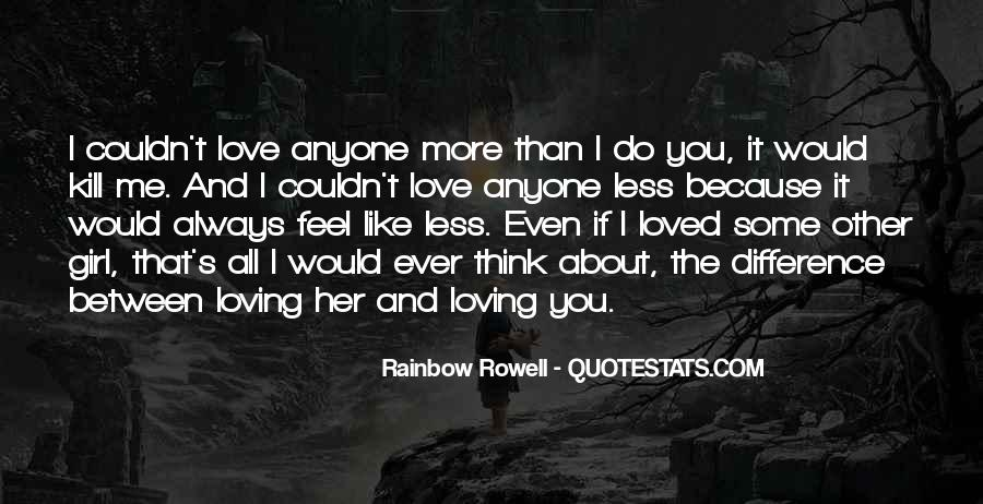 That Girl Love Quotes #23557