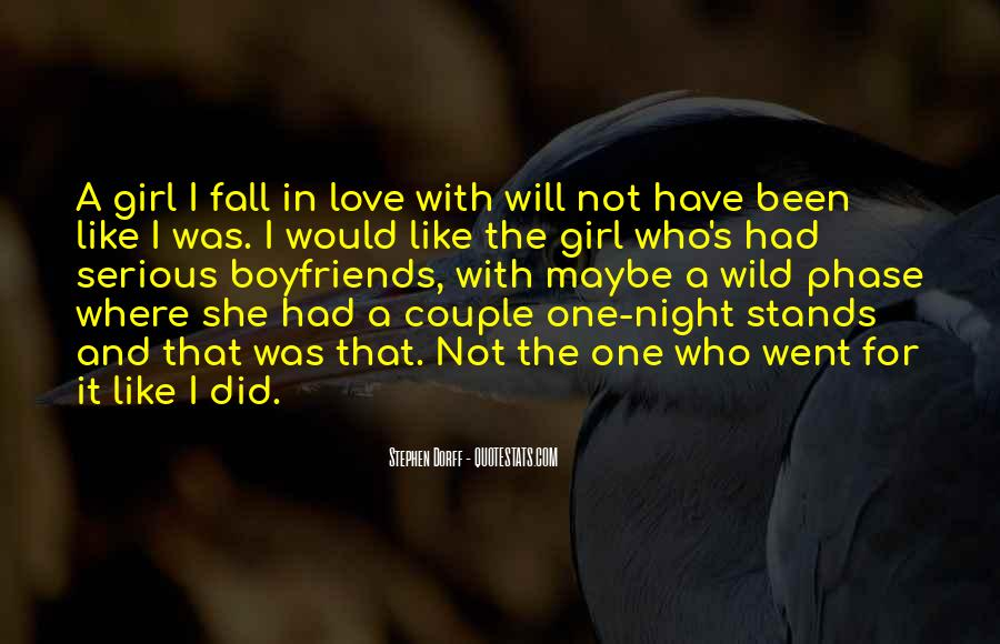 That Girl Love Quotes #33184