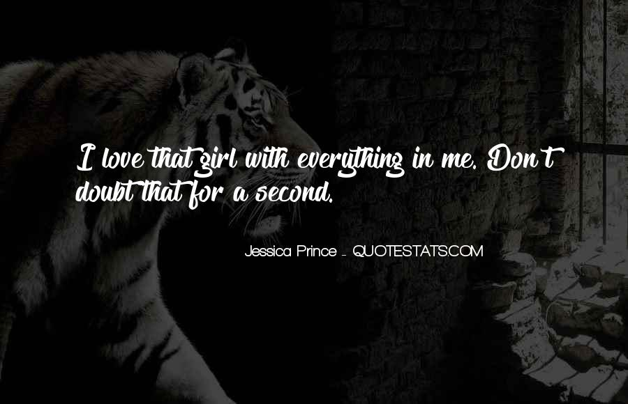 That Girl Love Quotes #42743
