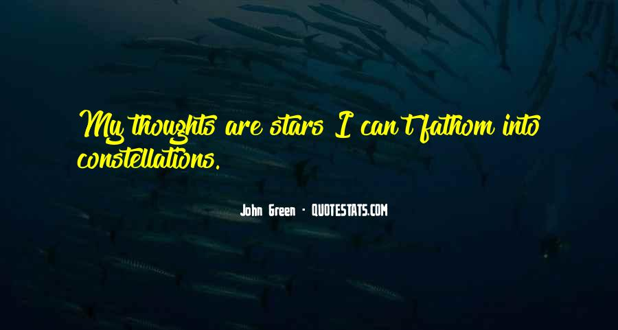 Quotes About John Green #17601
