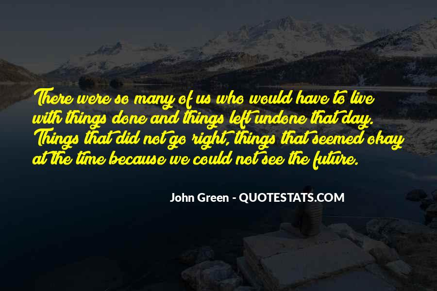 Quotes About John Green #24029