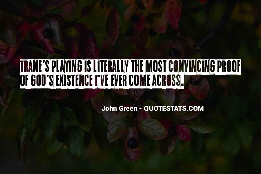 Quotes About John Green #42582