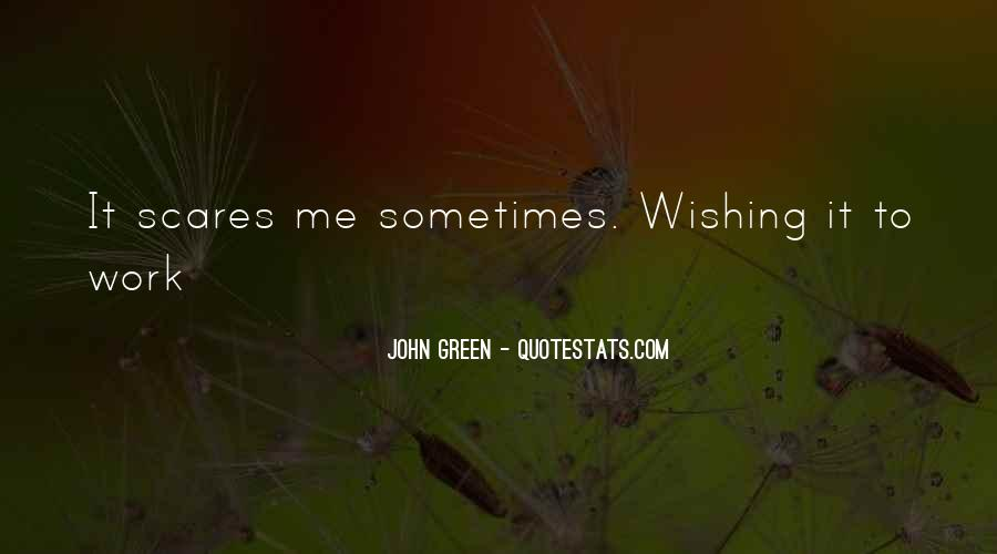 Quotes About John Green #43556