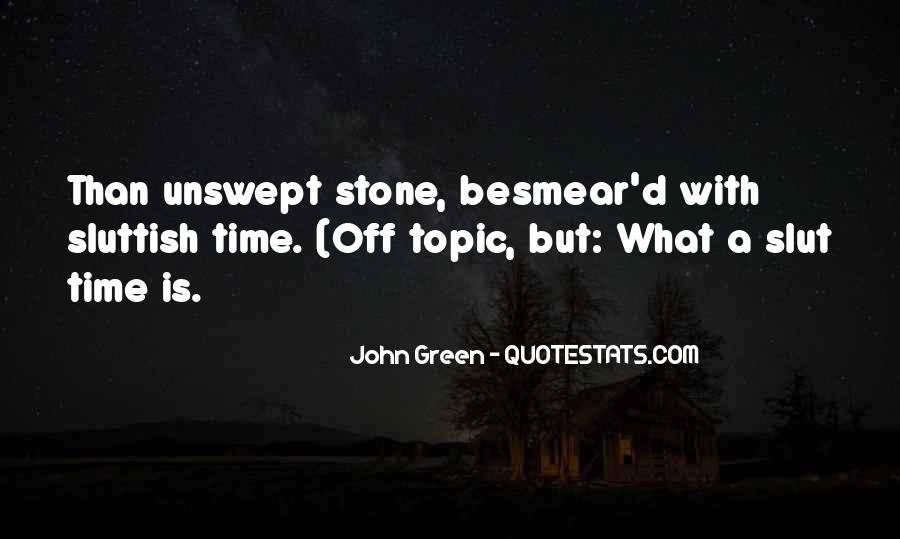 Quotes About John Green #47748