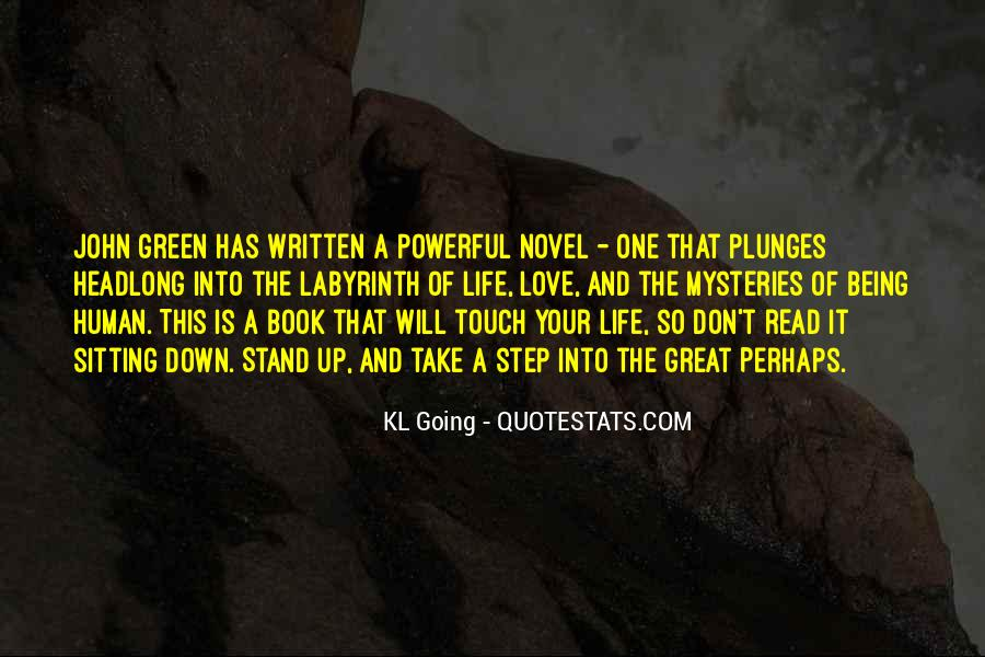 Quotes About John Green #69735