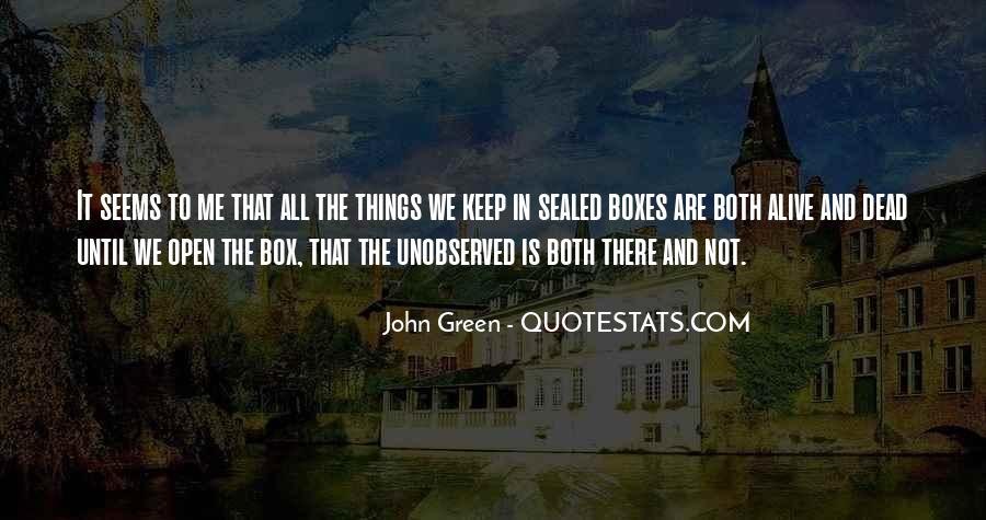 Quotes About John Green #70462