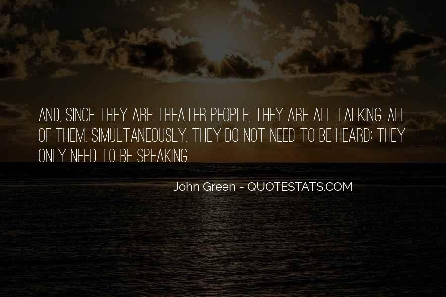 Quotes About John Green #73134