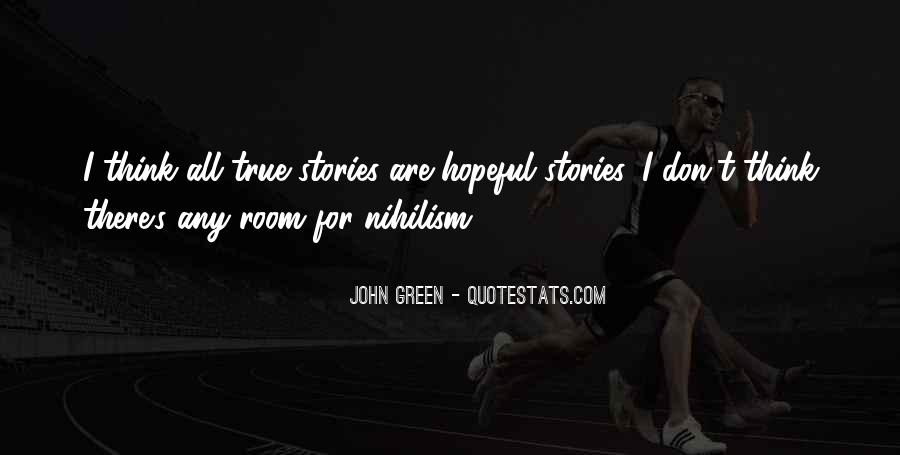 Quotes About John Green #78566