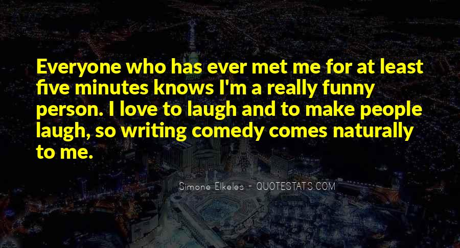 That One Person Funny Quotes #161336