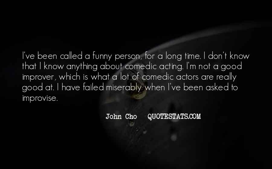 That One Person Funny Quotes #180487