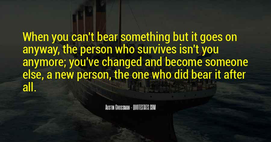 That Which Survives Quotes #4811