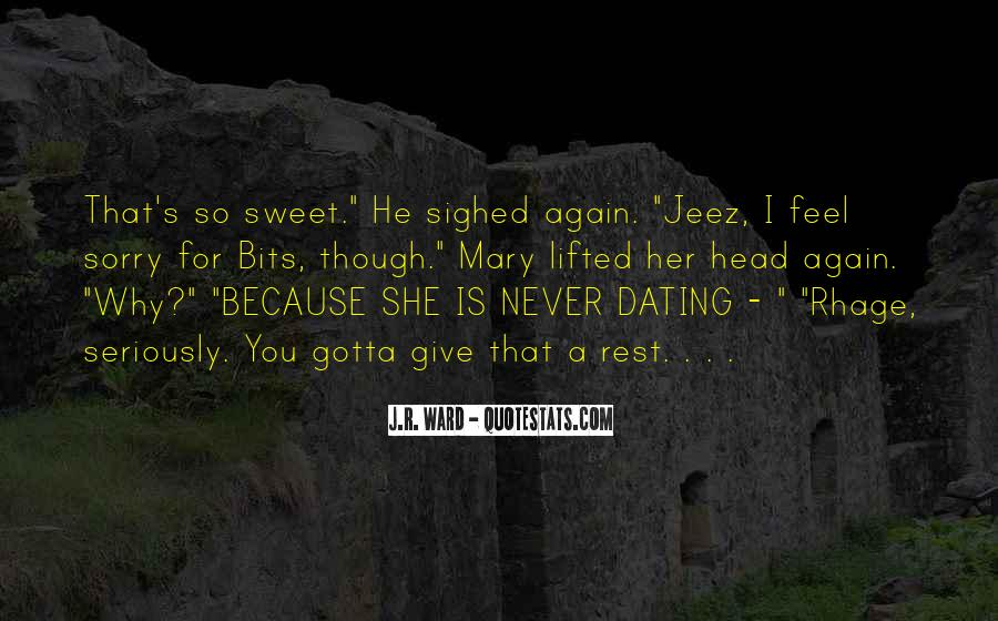 That's So Sweet Quotes #1861098