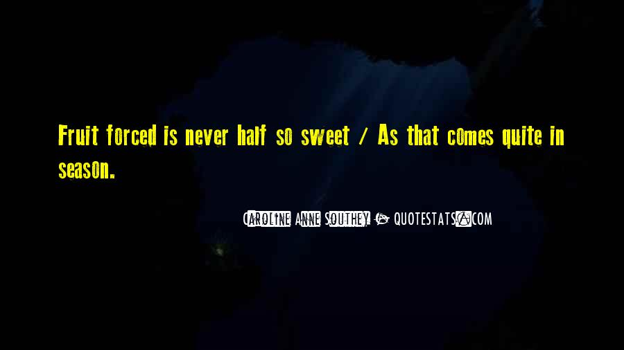 That's So Sweet Quotes #284170