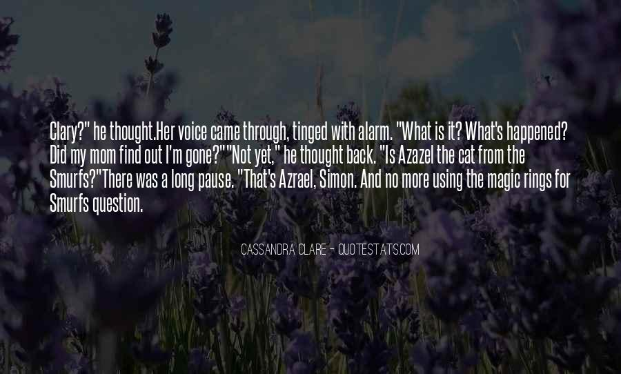 That's What I Thought Quotes #11999