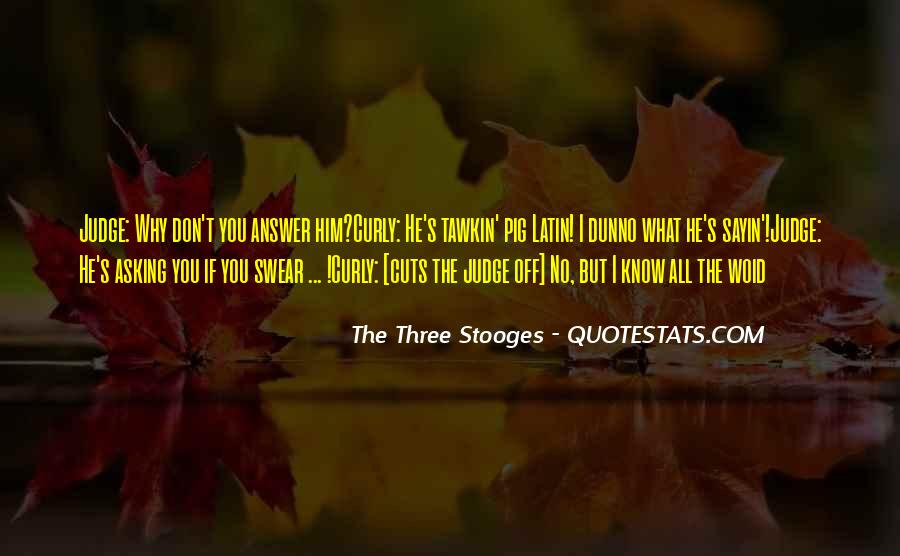The 3 Stooges Quotes #385517