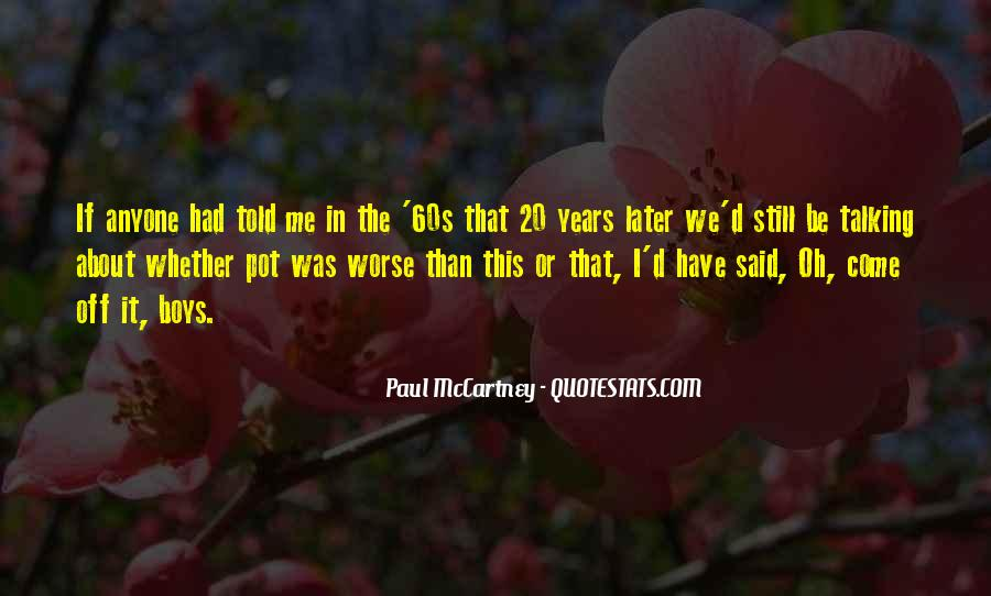 The 60s Quotes #54533