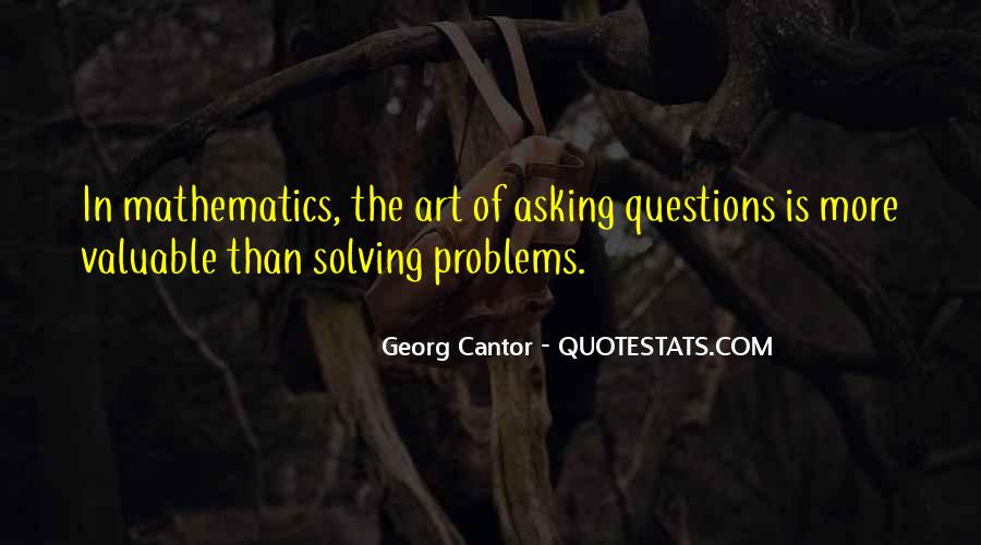 The Art Of Asking Questions Quotes #276783