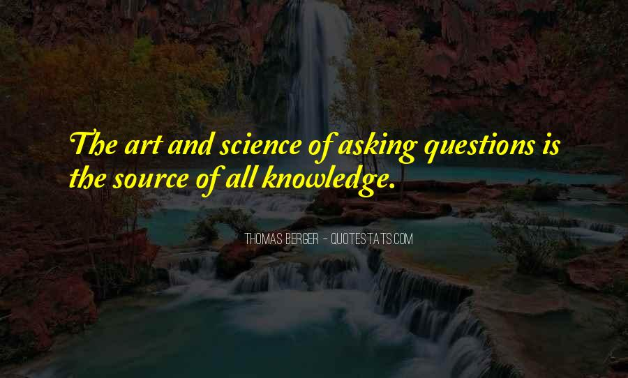 The Art Of Asking Questions Quotes #659387
