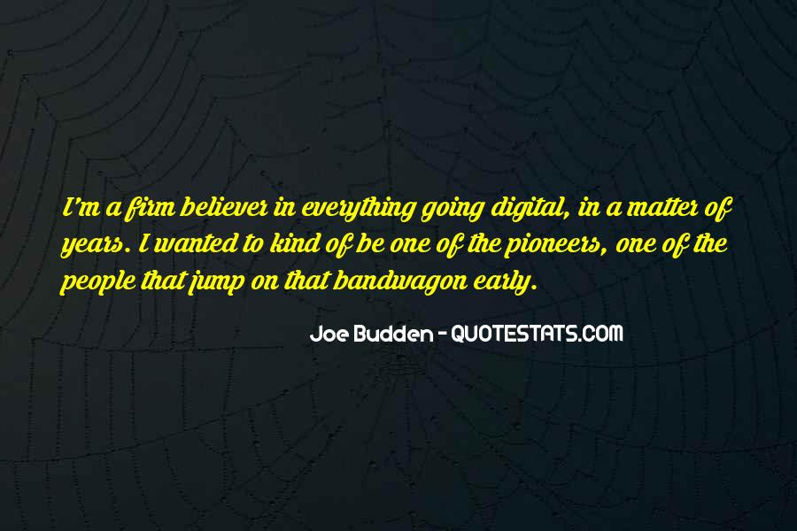 The Bandwagon Quotes #312531