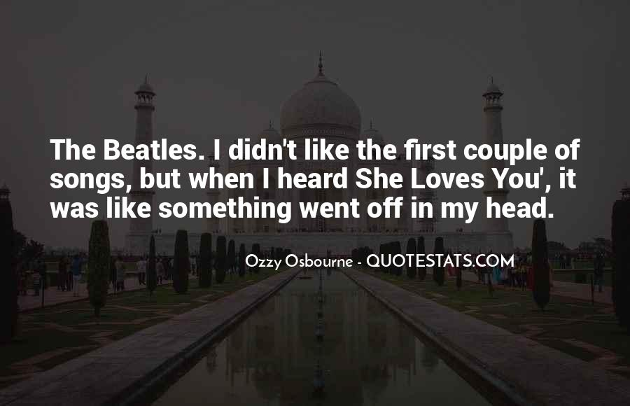 The Beatles Love Quotes #1271657