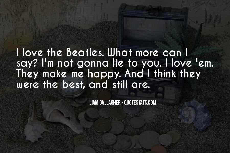 The Beatles Love Quotes #1412147