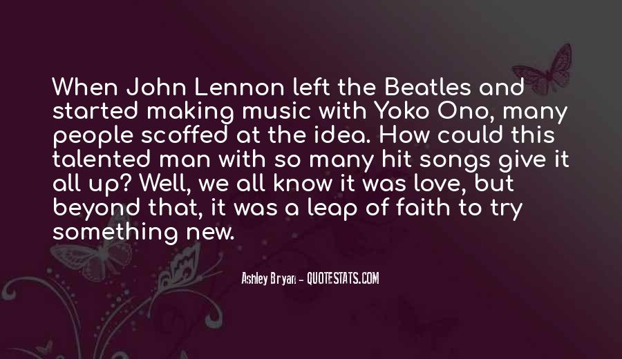The Beatles Love Quotes #1746601