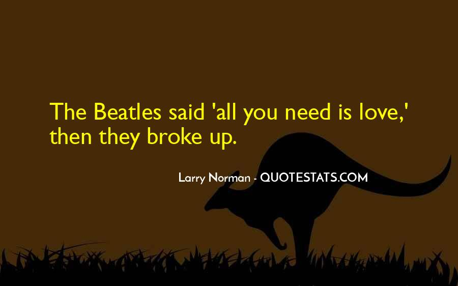 The Beatles Love Quotes #67968