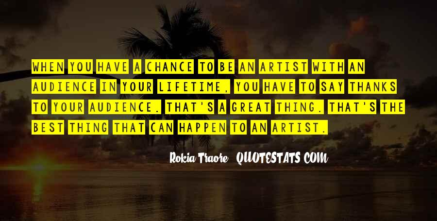 The Best Artist Quotes #1049274