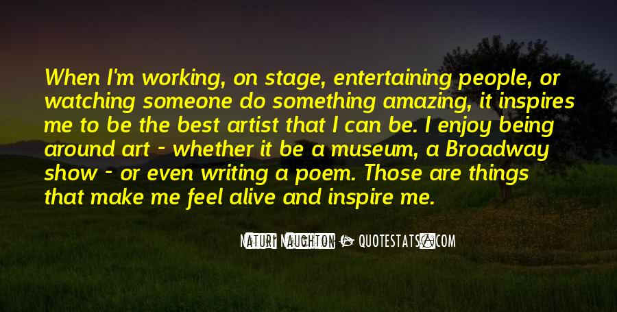 The Best Artist Quotes #1079850