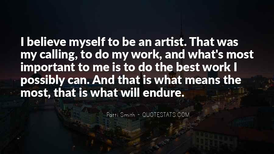 The Best Artist Quotes #1144089