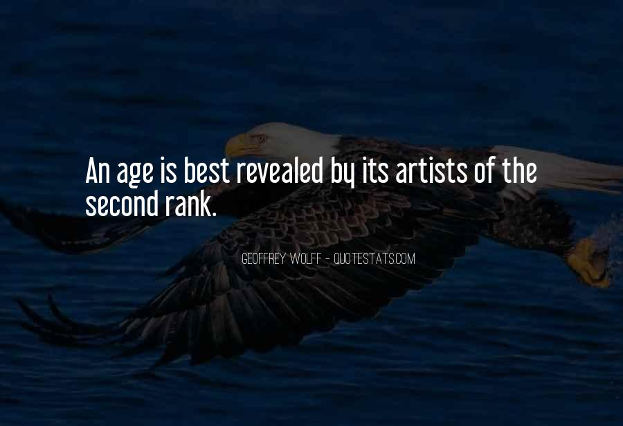The Best Artist Quotes #233497
