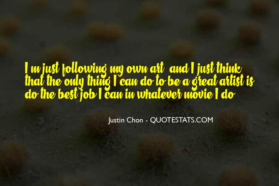 The Best Artist Quotes #287958
