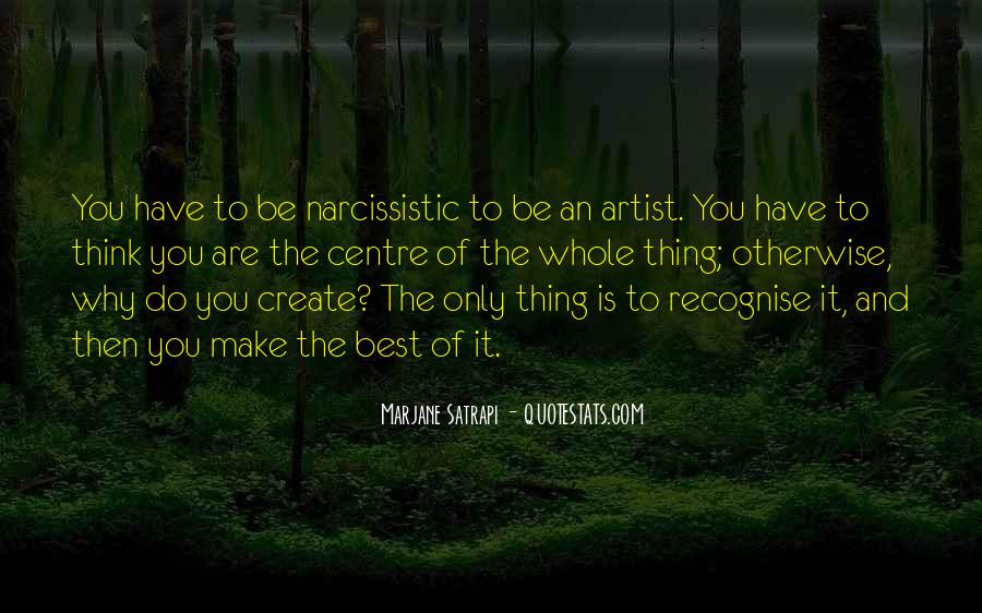 The Best Artist Quotes #316302