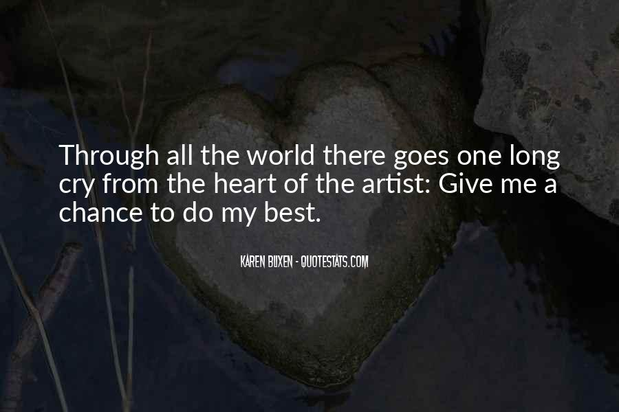 The Best Artist Quotes #40461