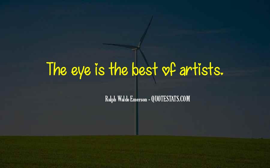 The Best Artist Quotes #424508