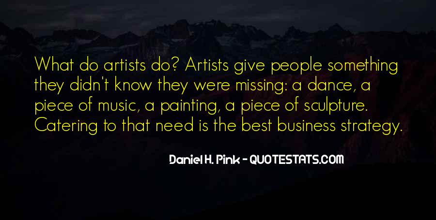 The Best Artist Quotes #462388