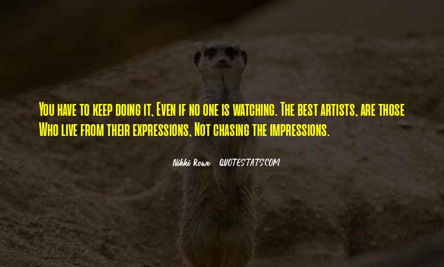 The Best Artist Quotes #485034