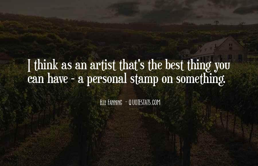 The Best Artist Quotes #657649