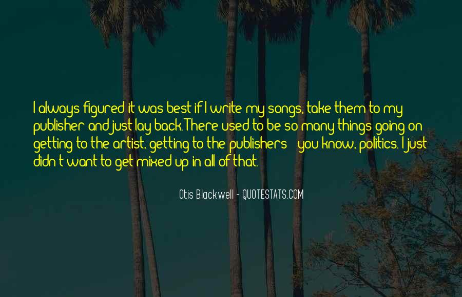 The Best Artist Quotes #71074