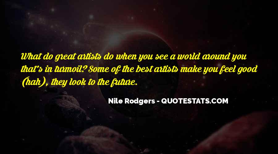 The Best Artist Quotes #772352