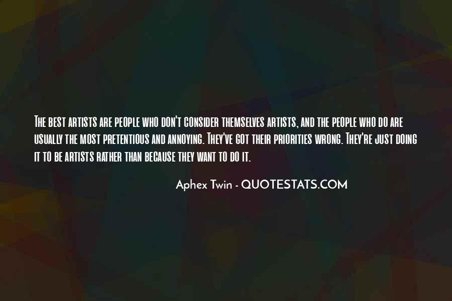 The Best Artist Quotes #88695